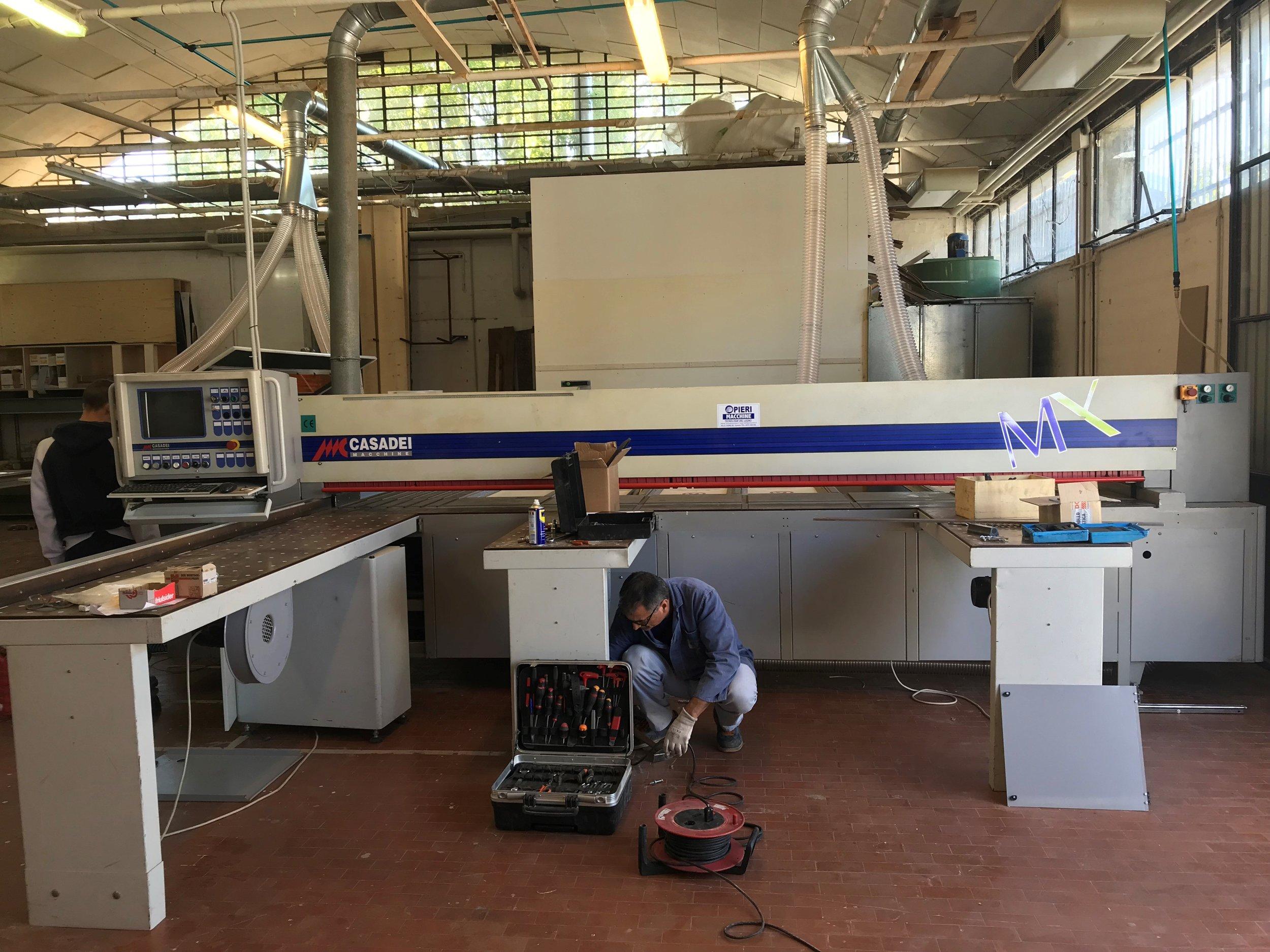 Sezionatura - Sezionatrice a CN fino a 4200mm, per elevati standard produttivi al massimo della velocità con il massimo della precisione.