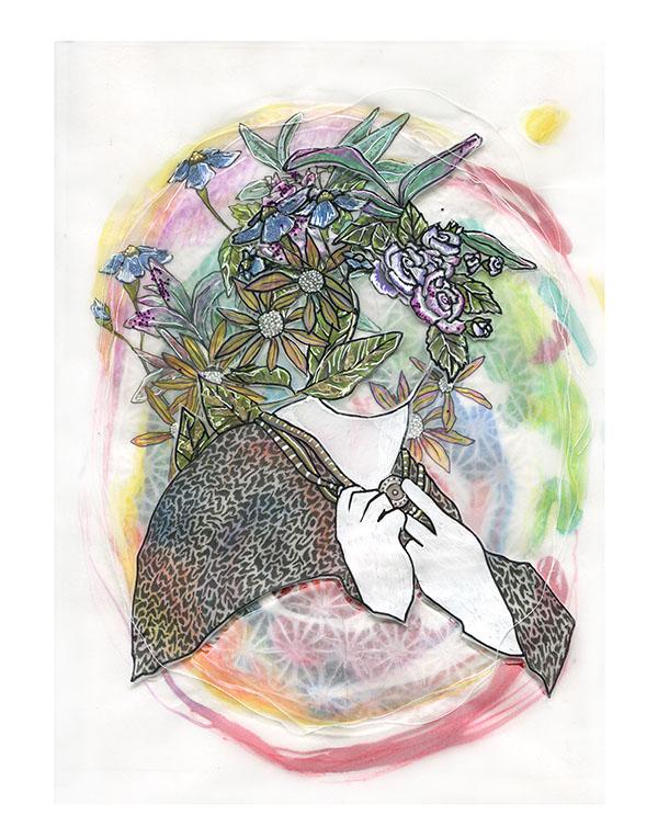Lady Terra's Secret (after Rossetti)