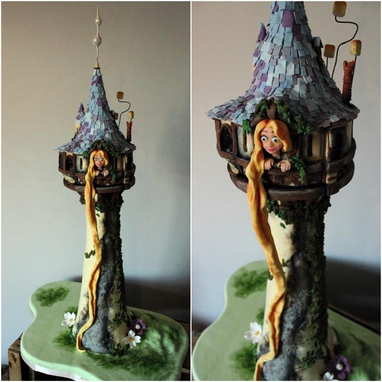 Rapunzel Cake - Sweet as Sugar Cakes Surrey