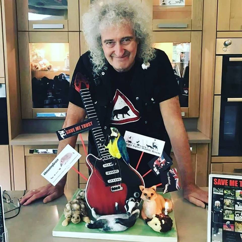Brian May Birthday cake