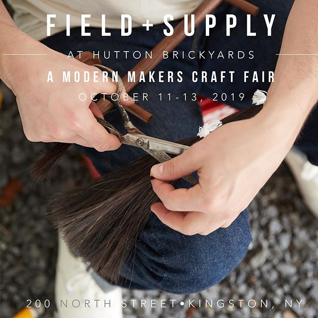 I love being part of @fieldandsupply ! These people are the best and the setting is so beautiful. Come see us and a myriad of wonderful makers starting tomorrow @huttonbrickyards  #fieldandsupply #huttonbrickyards #makersmarket #kingstonny #whattodothisweekend #hudsonvalley #fallfoliage