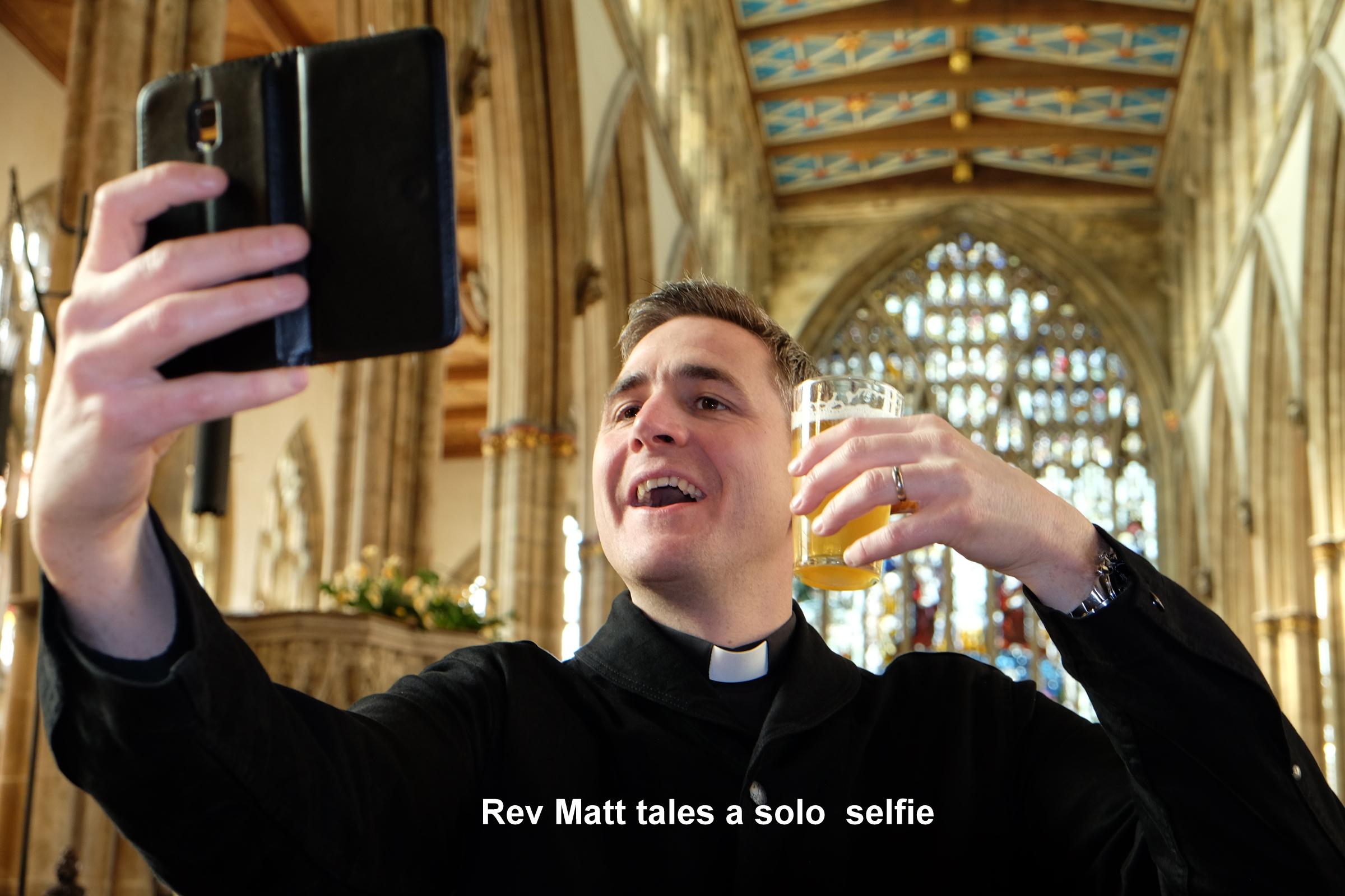 Holy Trinity Raise a Glass Matt Woodcock selfie.JPG