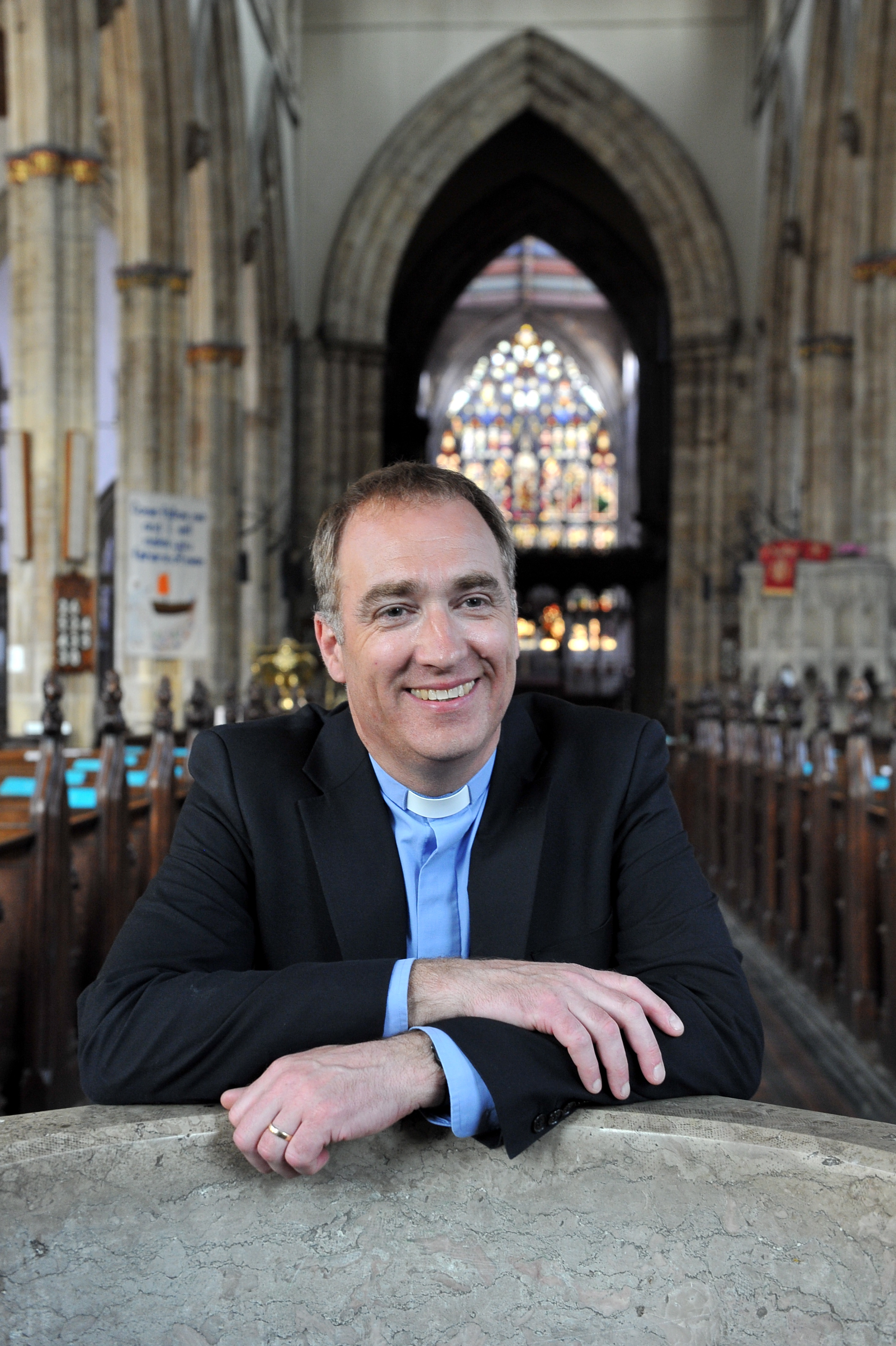 Vicar Neal Barnes will welcome HRH The Prince of Wales to Holy Trinity during a day of engagements in Hull.