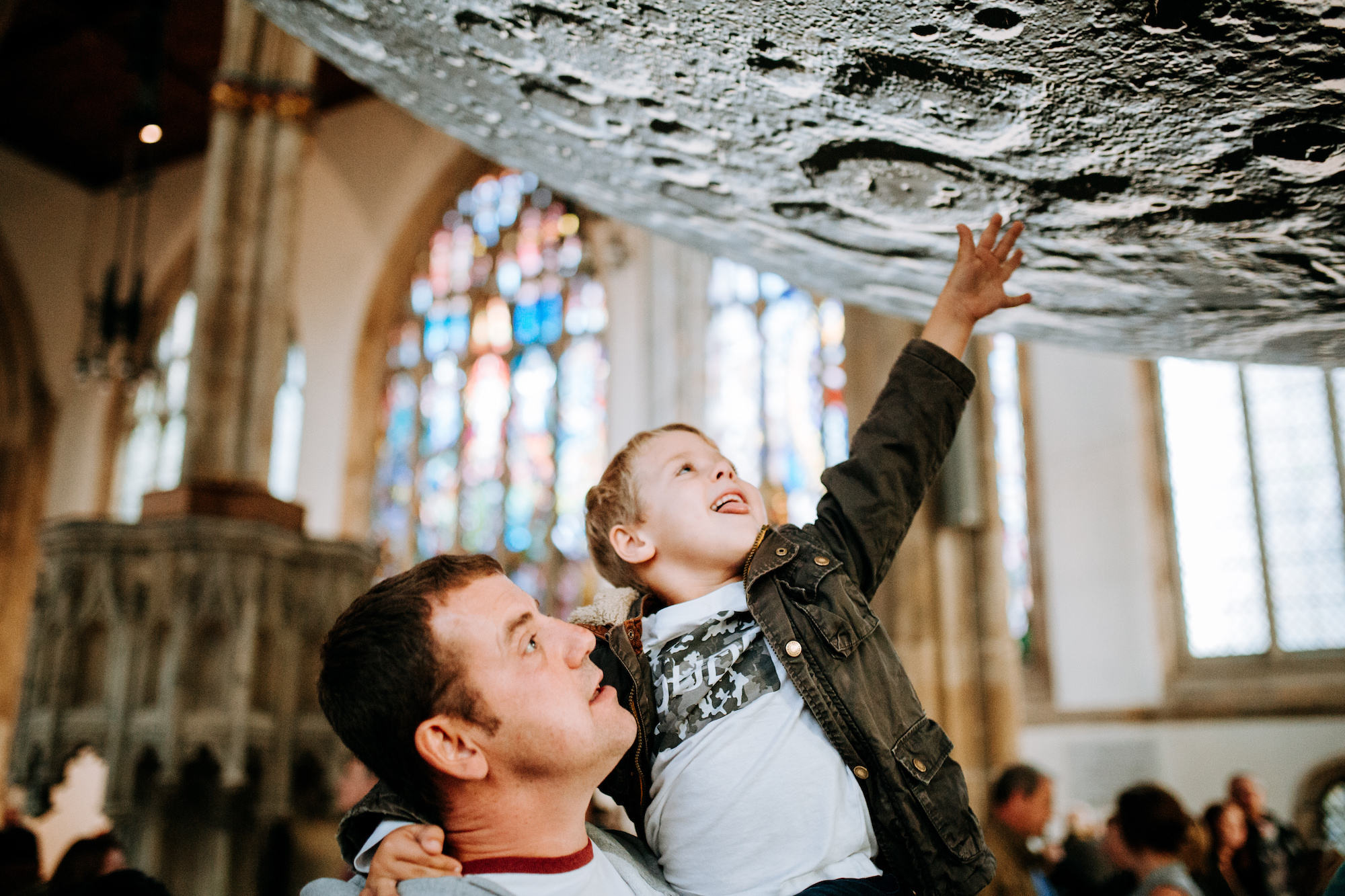 The Museum of The Moon was a major hit with young and old alike when it was staged at Hull Minister from August 30-September 15. Picture: Tom Arran/Freedom Festival