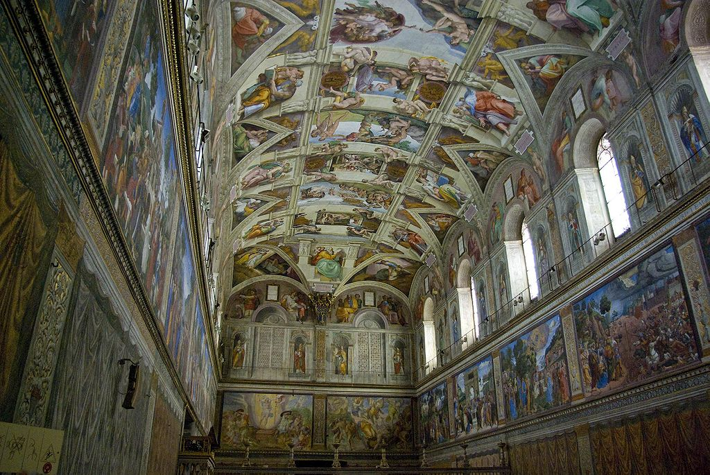 The exhibition at Hull Minster will allow visitors to appreciate fully the spectacular artwork on the ceiling of the Sistine Chapel, which draws four million people every year. Image: E4Y.