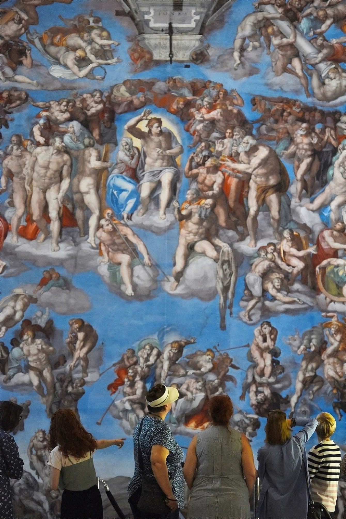 """A stunning six metres square reproduction of """"The Last Judgement"""", one of the highlights of """"Michelangelo – A Different View"""". Tickets are now available for the world-class exhibition at Hull Minster this autumn. Picture: Solent News & Photo Agency."""
