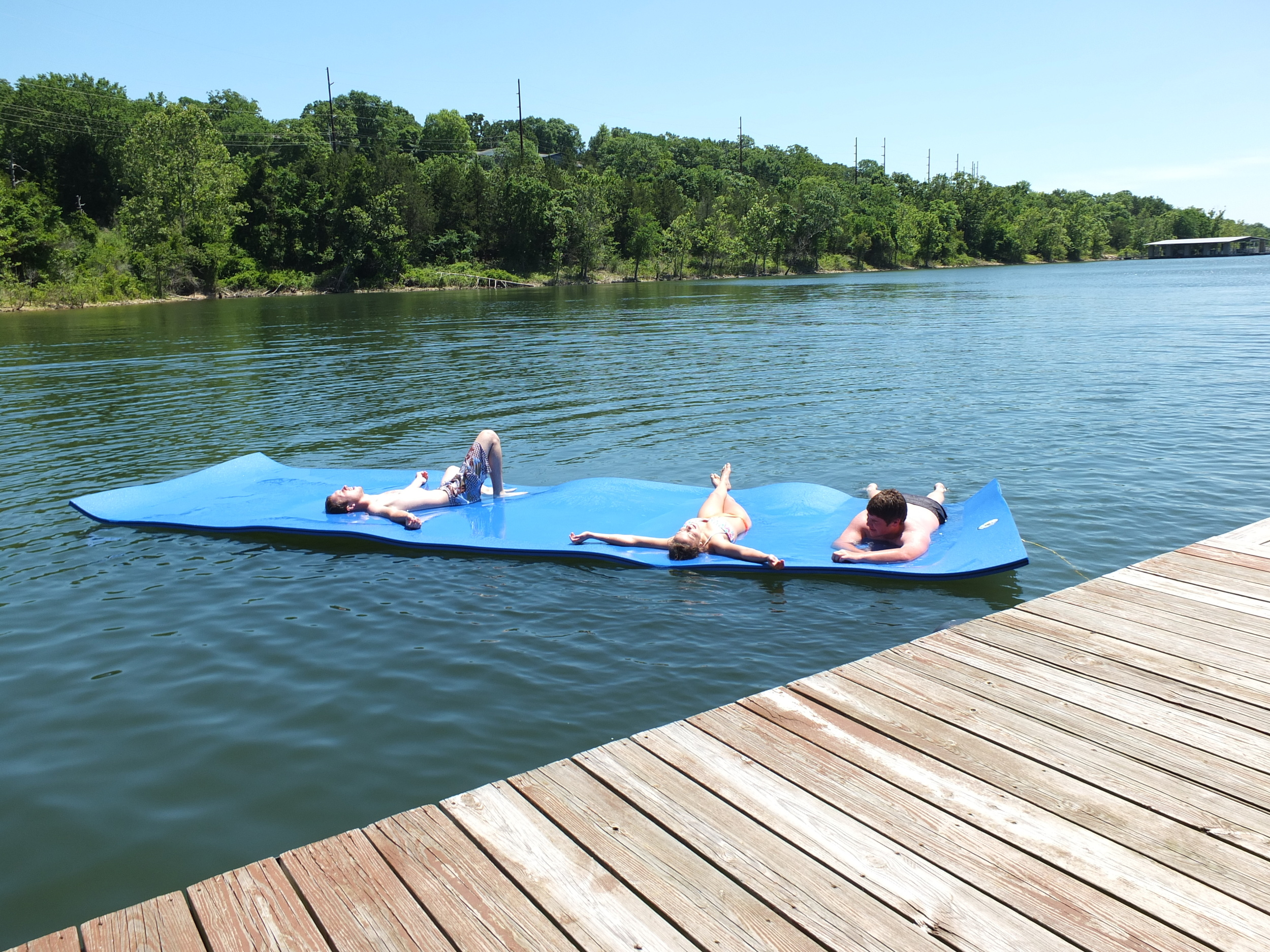 "Ask about renting our new 6' X 20"" Chillraft for your family fun!"