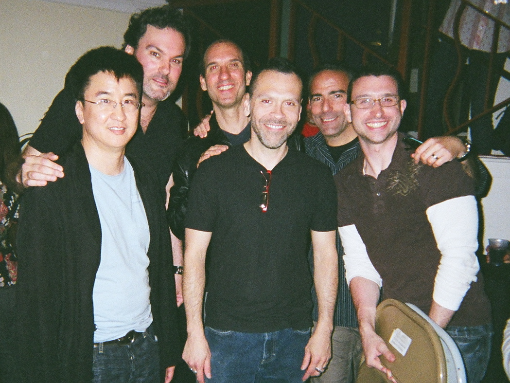 Timothy Liu, Michael Monlack, Richard Tayson, Steven Cordova, Michael Broder, and Jason Schneiderman.