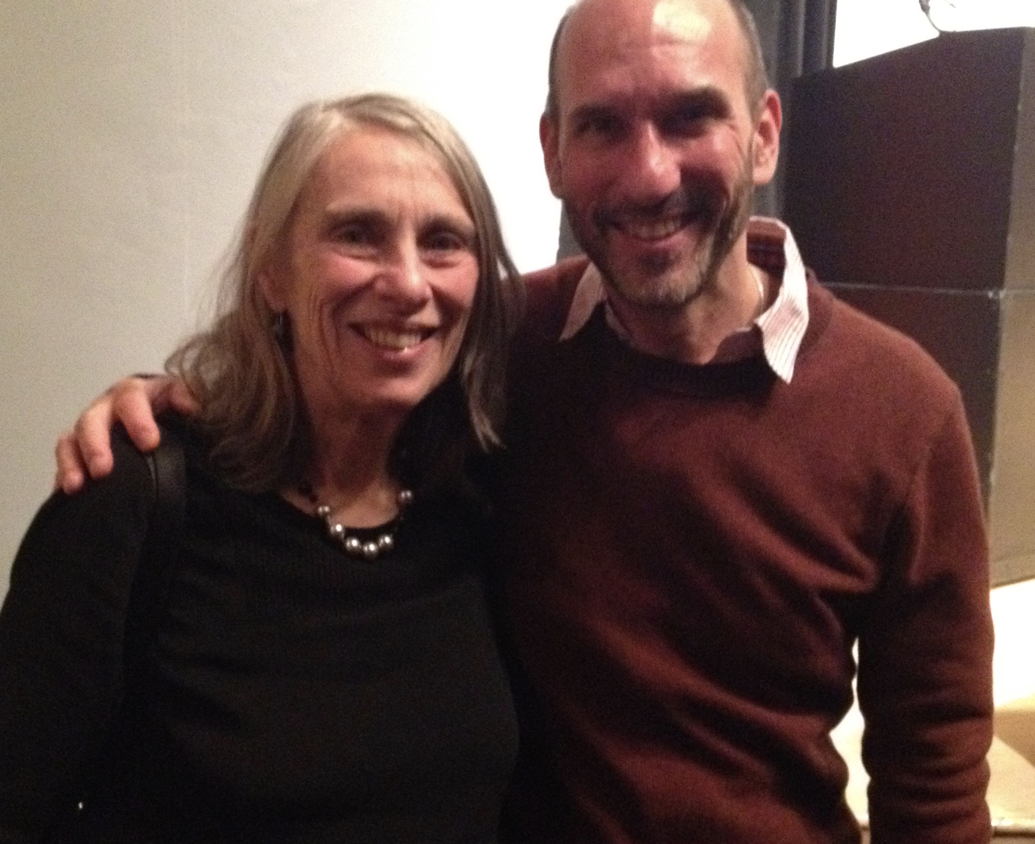 With Joan Larkin, author of Blue Hanuman, My Body: New and Selected Poems, and Cold River.