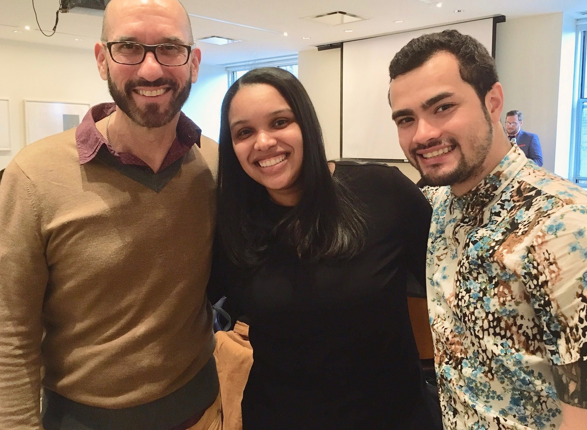 With Melissa Puello and Michael Mishka Anthony, Riggio Writing & Democracy Program Honors Thesis Reading, New School Writing Program. May 4, 2018
