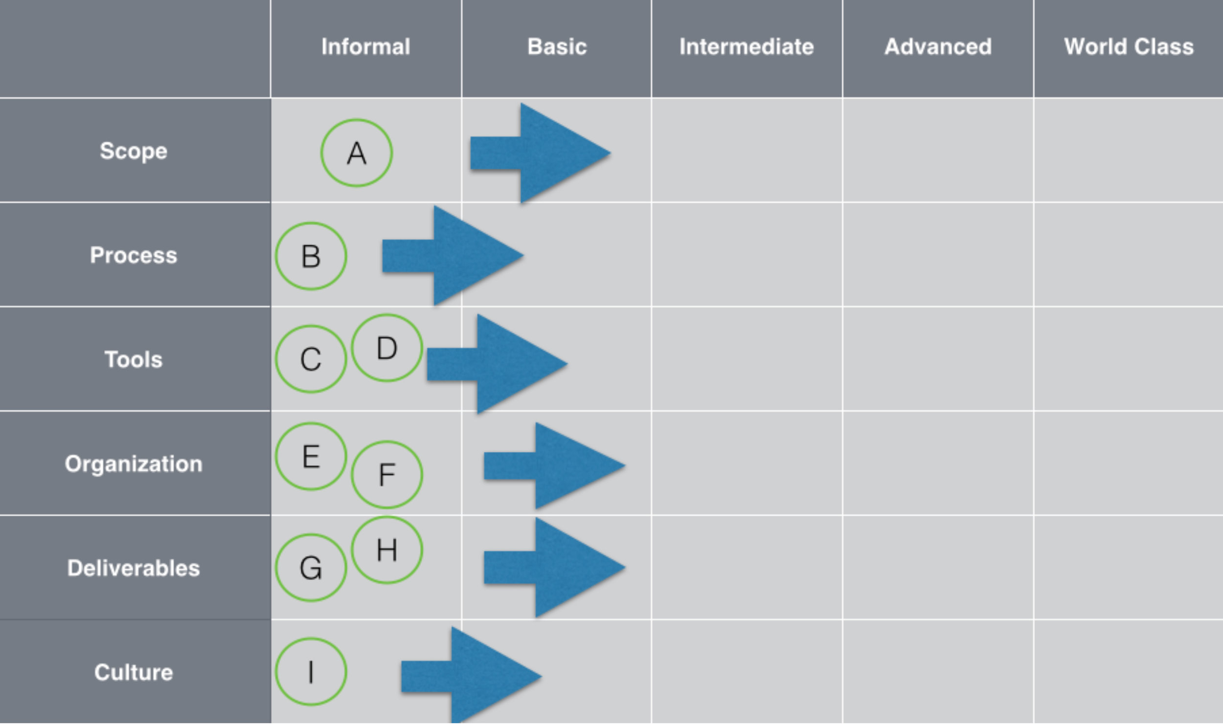 Market & Competitive Intelligence Function Development Roadmap - Status Quo Results