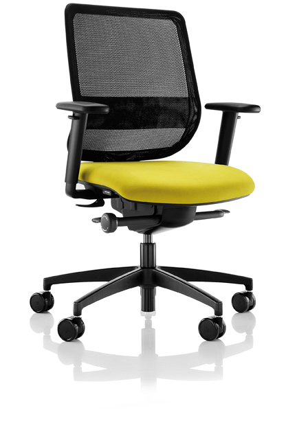 Combining maximum support and ergonomic excellence, the Lily mesh-back is an aesthetically striking task chair offering a superior level of comfort.