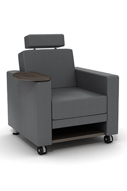 Epic Series lounge seating is GREENGUARD Indoor Air Quality Certified for a healthier environment, and meets the requirements for low-emitting materials LEED credit 4.5.