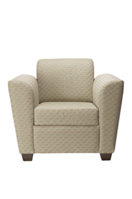 Portico Series lounge seating is GREENGUARD Indoor Air Quality Certified for a healthier environment, and meets the requirements for low-emitting materials LEED credit 4.5.