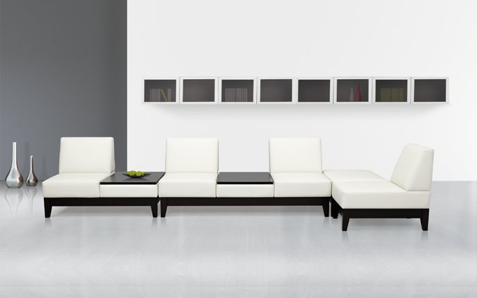 Endless configurations and sophisticated design, the Parker Collections' flexibility meets the needs of countless spaces.Optional power and communication modules maximize connectivity and extend performance in collaborative environments.