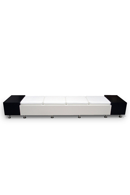 Benches featuring modern lines, finishes ,and fabrics. Zen benches can be applied to multiple environments including offices, reception areas, boardrooms, meeting rooms, hospitality and more.