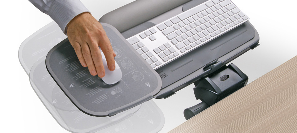 Whether you are outfitting one workstation or thousands, Workrite Glide 2™ moves to everyone's comfort level. Its limitless range of adjustability is out of this world.