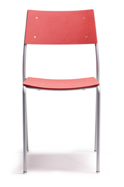 Available in a wide selection of colours ranging from subtle to vivid, the Bing chair clearly sets the standard for simplicity and practicality.