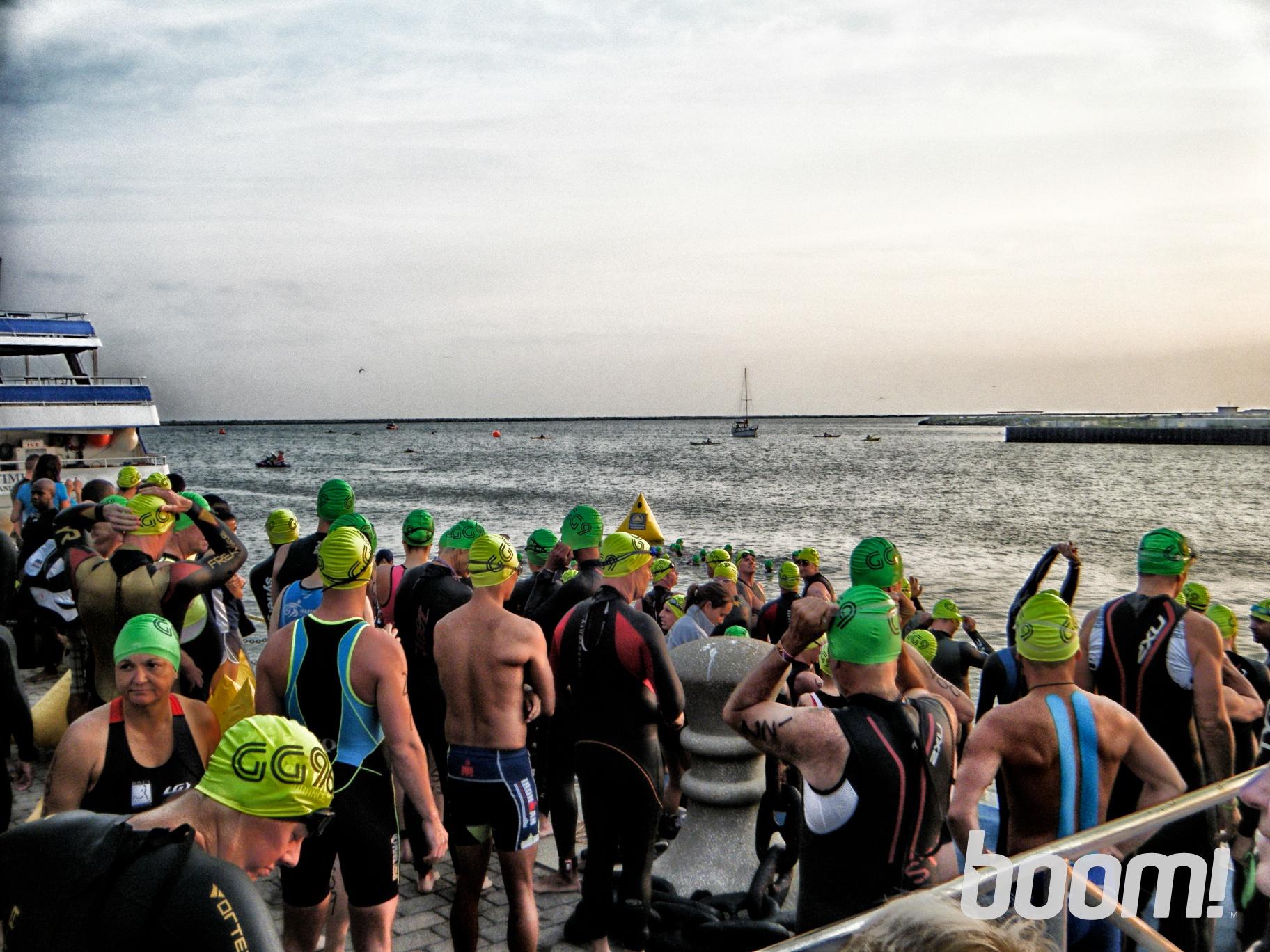 Anticipation at the swim start