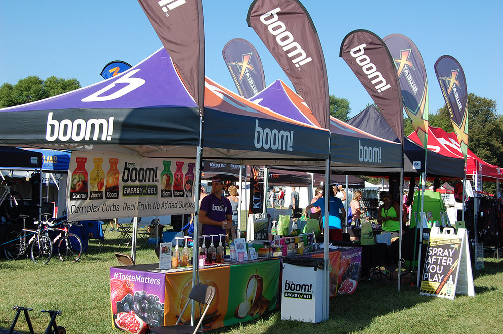 CarbBoom! Energy Gels Fall 2016 events