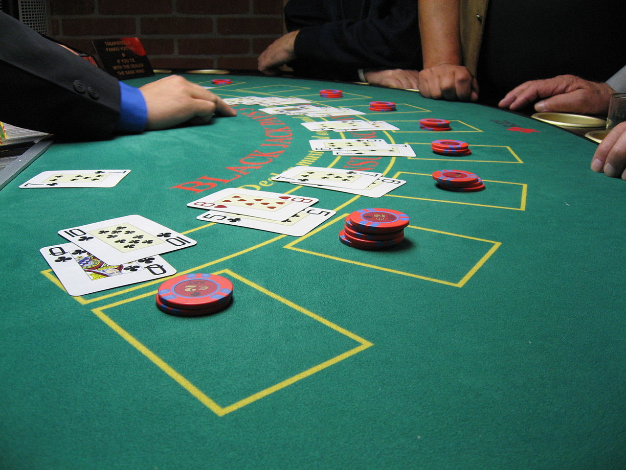 Casino night game when was the blue chip casino built