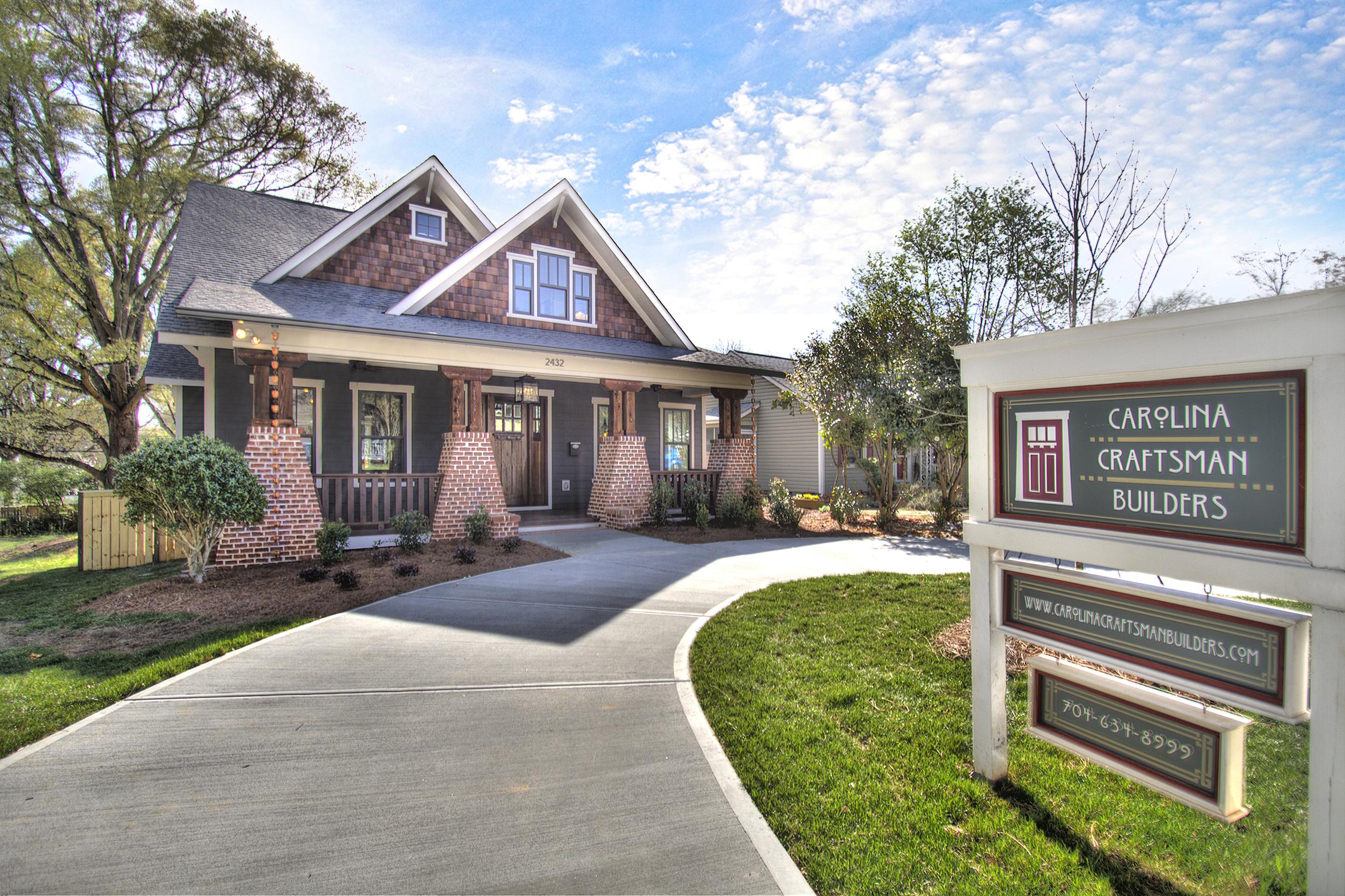Carolina Craftsman Builders - Designer Kitchen - Charlotte, NC