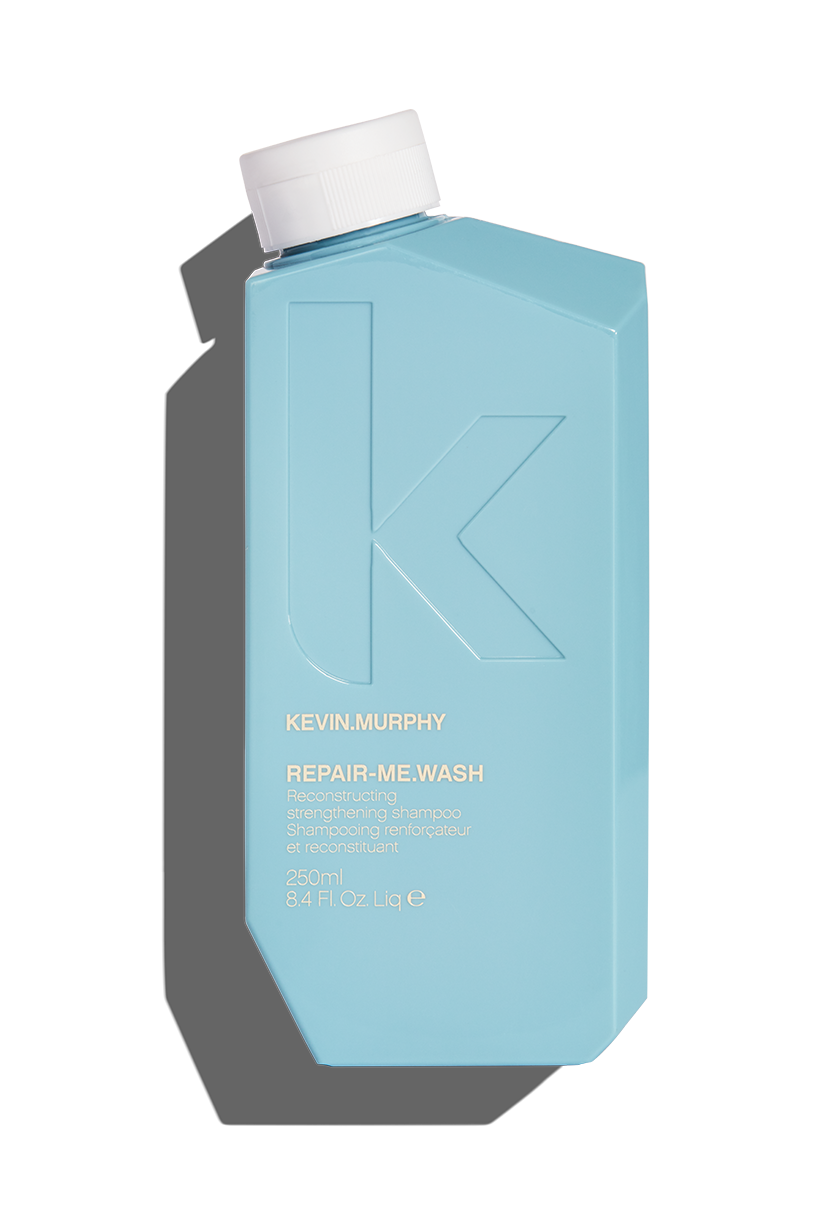 Nourish overtaxed hair back to life, and make dry, damaged, frizzy over-processed hair a thing of the past with a little help from  REPAIR-ME.WASH . Prepare to renew and restore frazzled locks with our reconstructing treatment shampoo enriched with powerful proteins and amino acids. It will help to strengthen the hair from root to tip, while gently removing impurities and soothing damage.