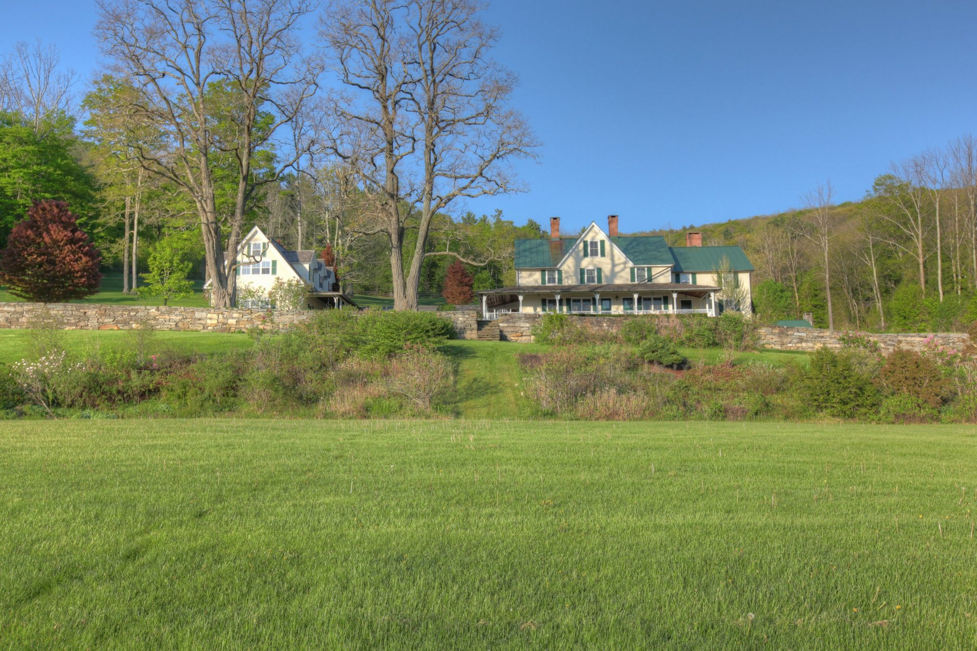 ...the circa 1800 Manor House originally constructed by the North Family of the unique and tiny Tyringham Shaker community...