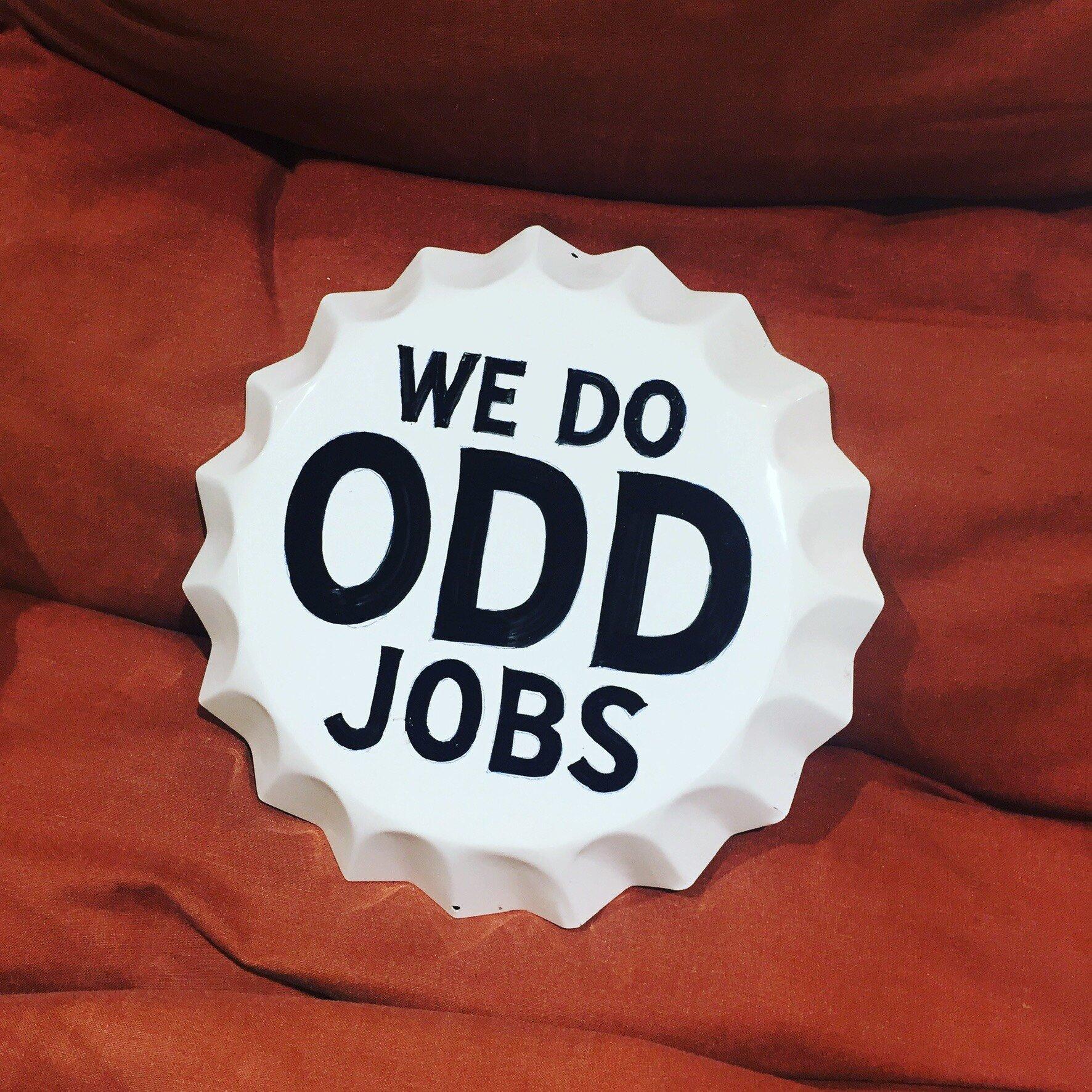 We Do Odd Jobs Bottlecap