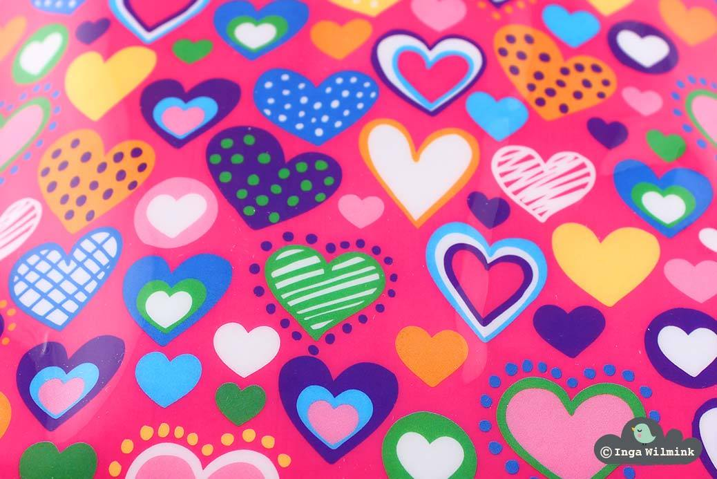 Heart Print - Surface Pattern Design by Inga Wilmink