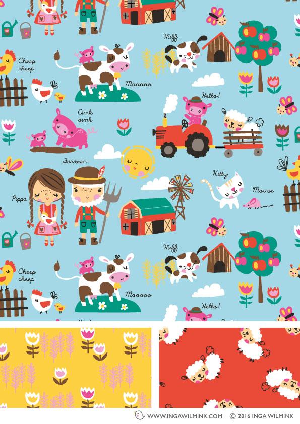 Inga Wilmink - Illustration - Old McDonalds Farm