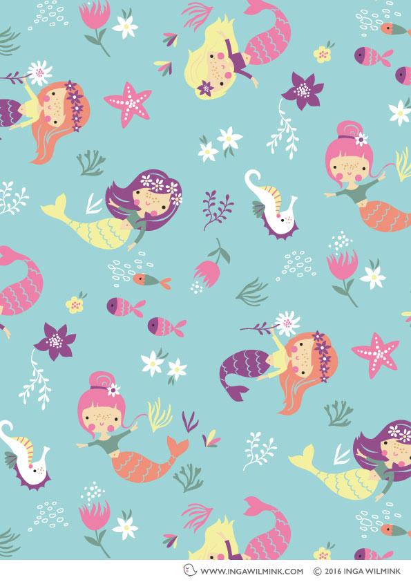 Inga Wilmink - Illustration - Mermaids