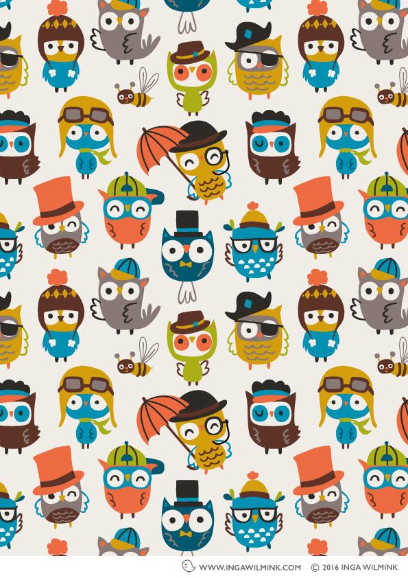 Inga Wilmink - Illustration - Smart Owls