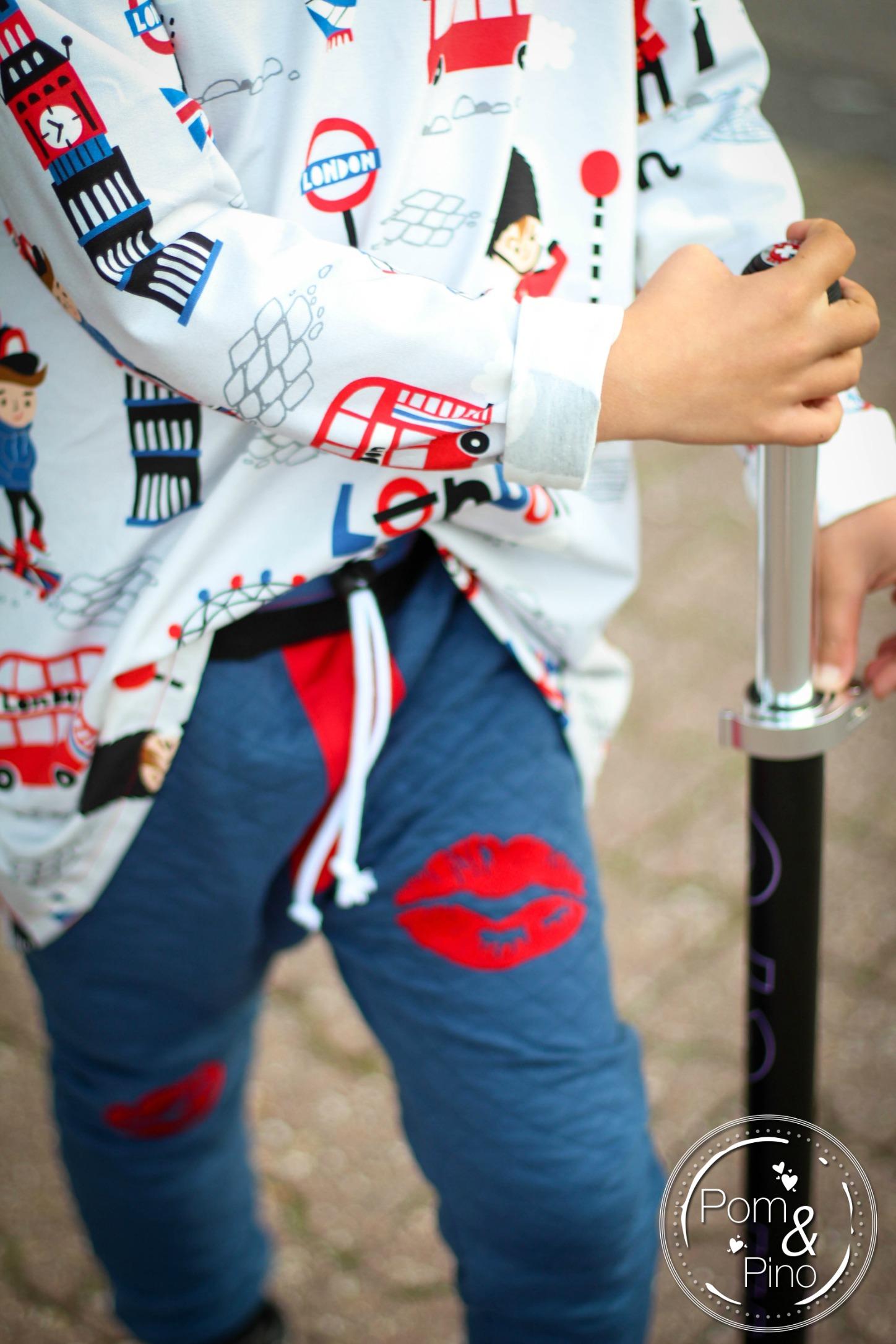 London Boys fabric - Inga Wilmink