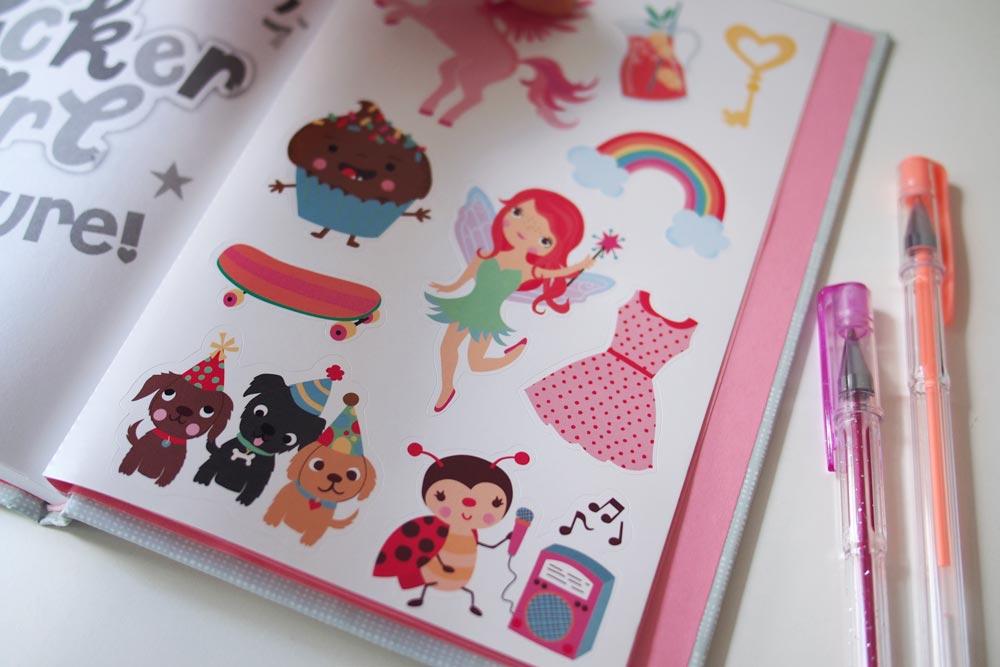 Sticker Girl by Janet Tashjian, Illustrations by Inga Wilmink