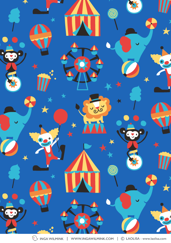Inga Wilmink - Illustration for Laolisa - Circus