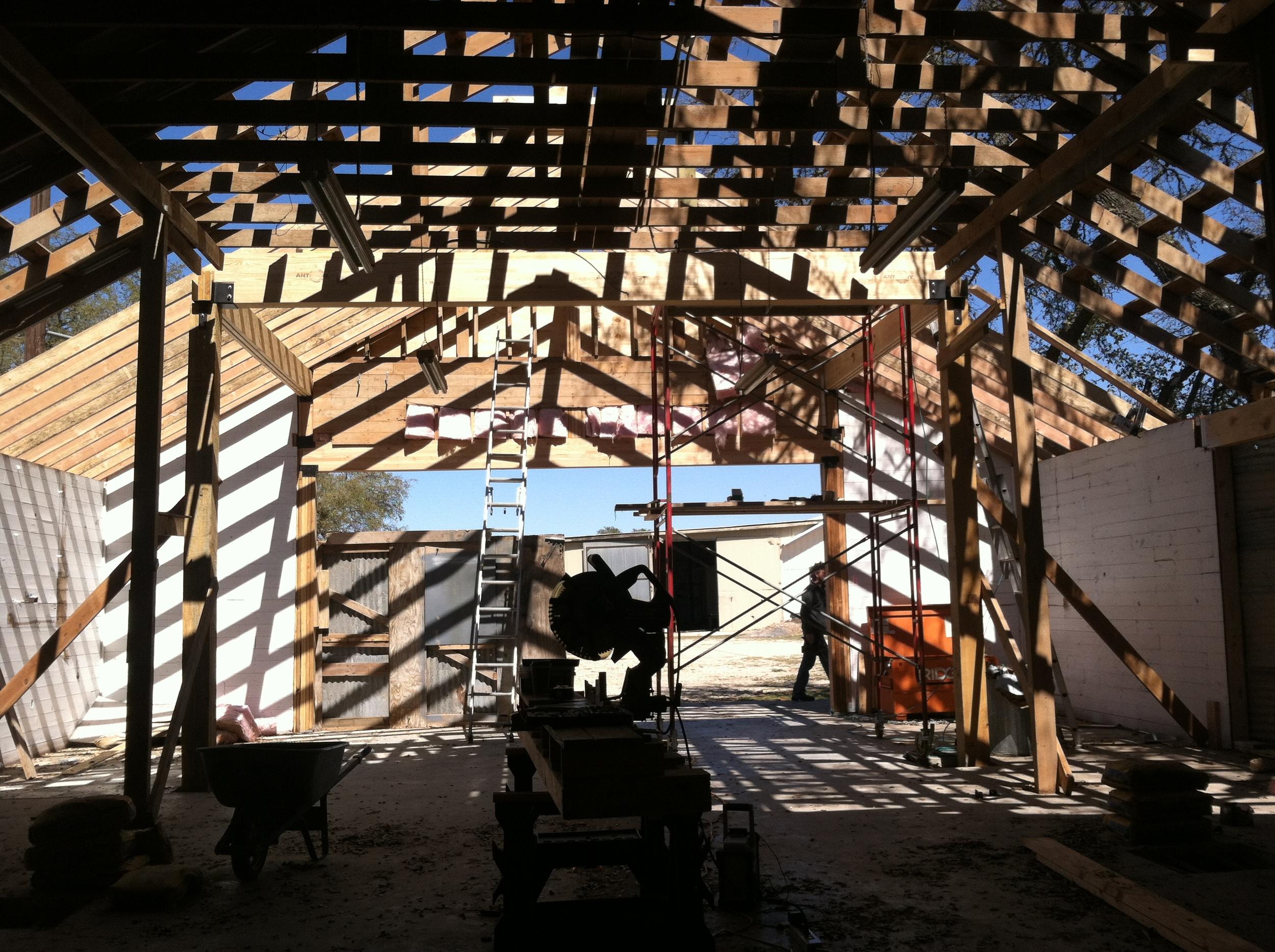 Original truss work