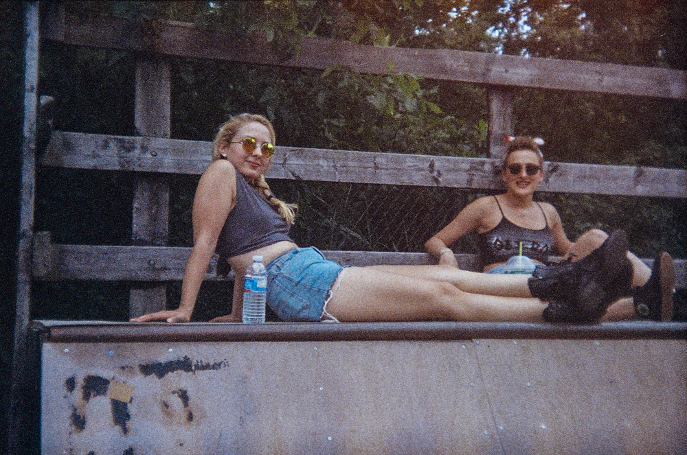 Lilly and Elly Chilling At Our First Photo Shoot For Get Born