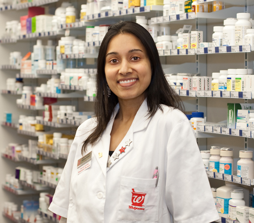 I had about 5 minutes to shoot with this busy pharmacist; using a simple speed light setup allowed me to get the shot.      ISO 320, 1/50 sec. at f4, 50mm lens.