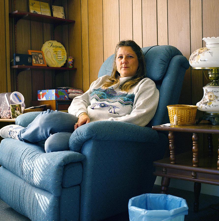 Favorite Chair environmental location portrait Donna.jpg