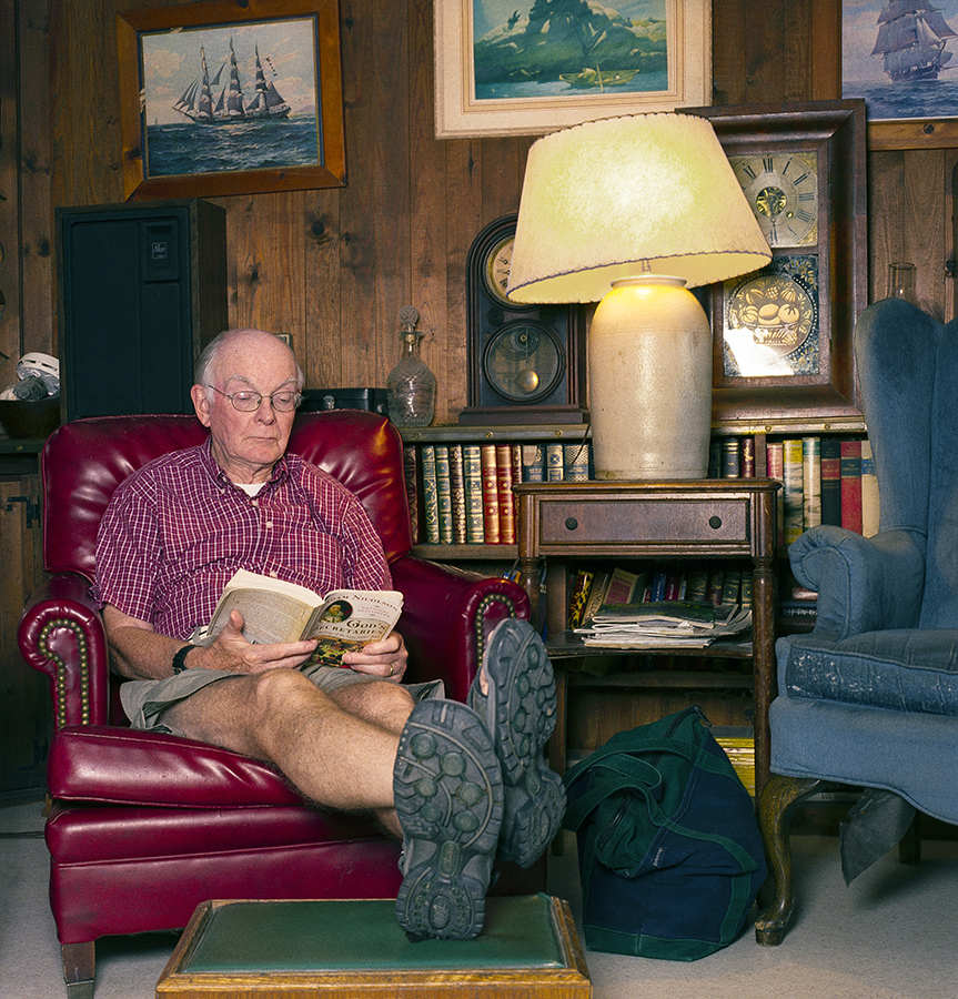 Favorite Chair environmental location portrait Mr. Rice.jpg
