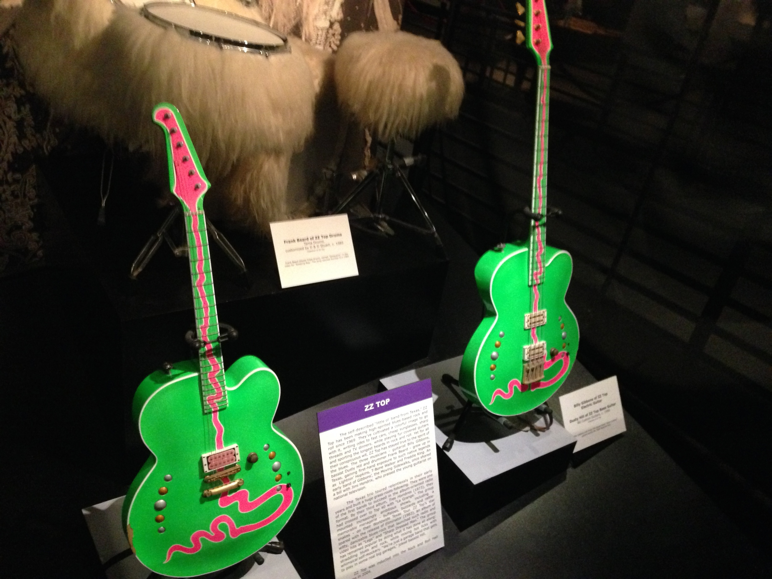 ZZ Top's Green Guitars and Hairy Drums