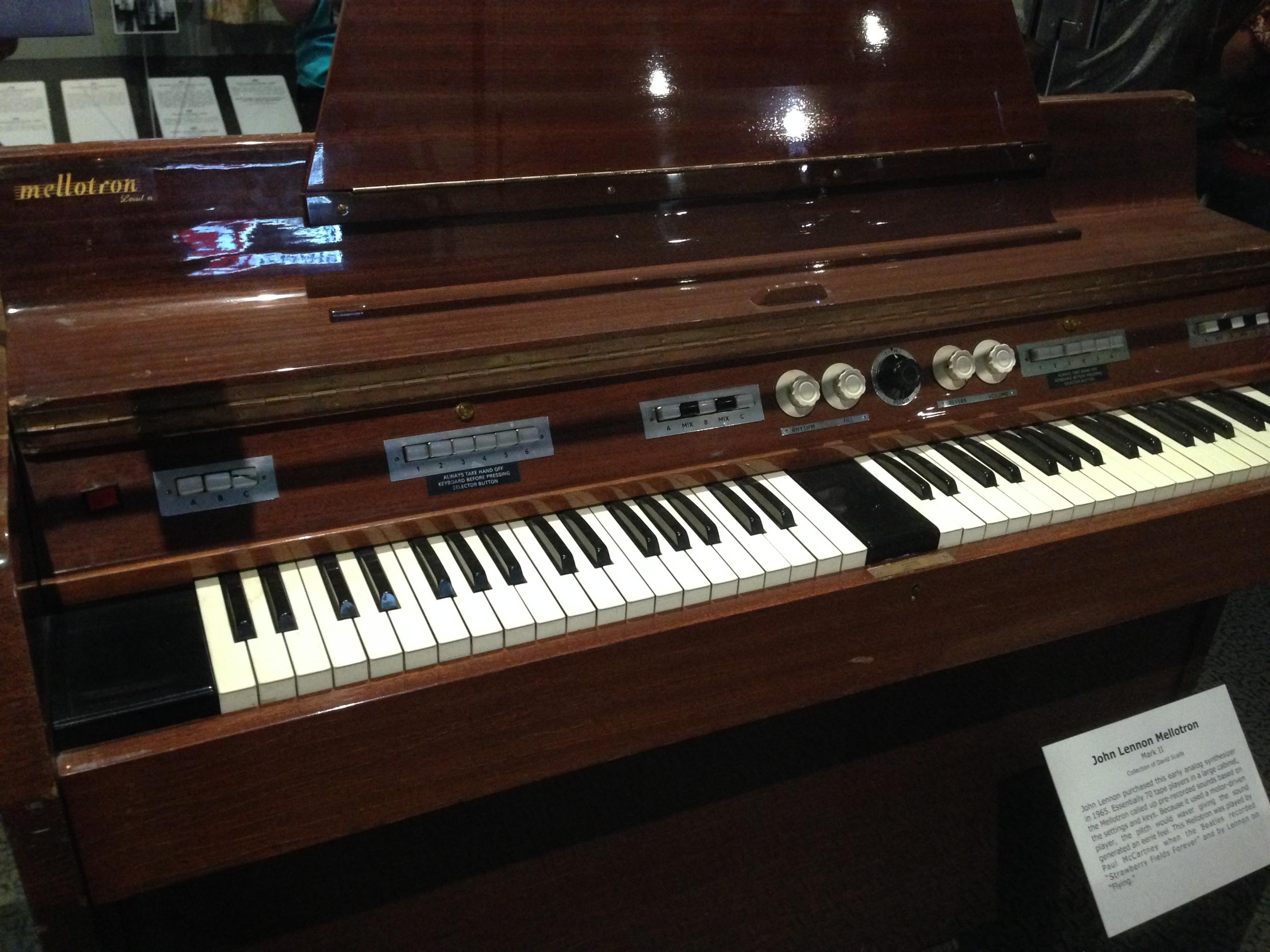 John Lennon's Mellotron