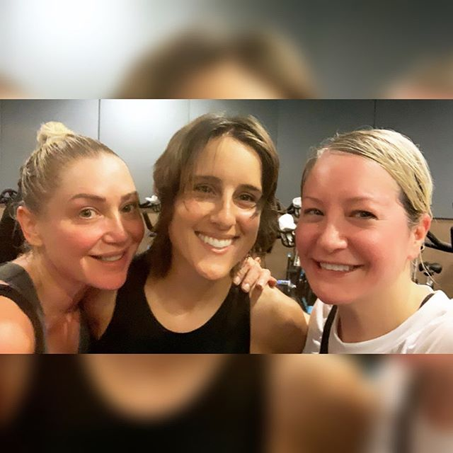 Four years ago my friend Patty talked me into going to Flywheel. We took a few classes together...and then one Saturday night I got the urge to spin so I signed up for an 8:15 class the next morning all by myself! It was the first time riding without my pal and it turned out to be one of those *magic* Elizabeth Hill classes - the music, the energy, all on point. Elizabeth was the first teacher I listened to and trusted (like, I didn't pretend to turn the torque up, I actually did!), and I ended up joining because of her and that class.  Flywheel is/was the only workout I've ever stuck with. It was a community...a place I went to to ride a bike, sing songs and have fun - with the added benefit of being a good workout! So much magic happened in that dark little room, and here's why I think that is: Not only did the teachers motivate me to do better, they also taught me self-love, self-acceptance. Not a lot of people can do both of those things at once. So from my first Sunday at 8:15 to my last, I thank you, Elizabeth. And I thank you too, Patty, for being my workout buddy and always encouraging me to do more. #nevercoast
