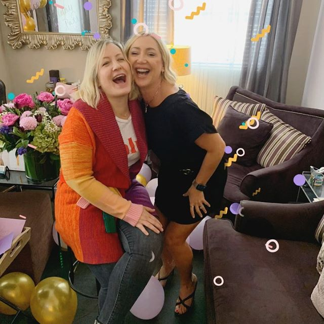 We asked @patriciaciano's assistant to take a birthday 🎉 photo of us and it turned into a photo shoot. Thank you, @terry.christanio! We ❤️ the pics. And happy birthday, Patty! I hope we're still celebrating together when we're 100.