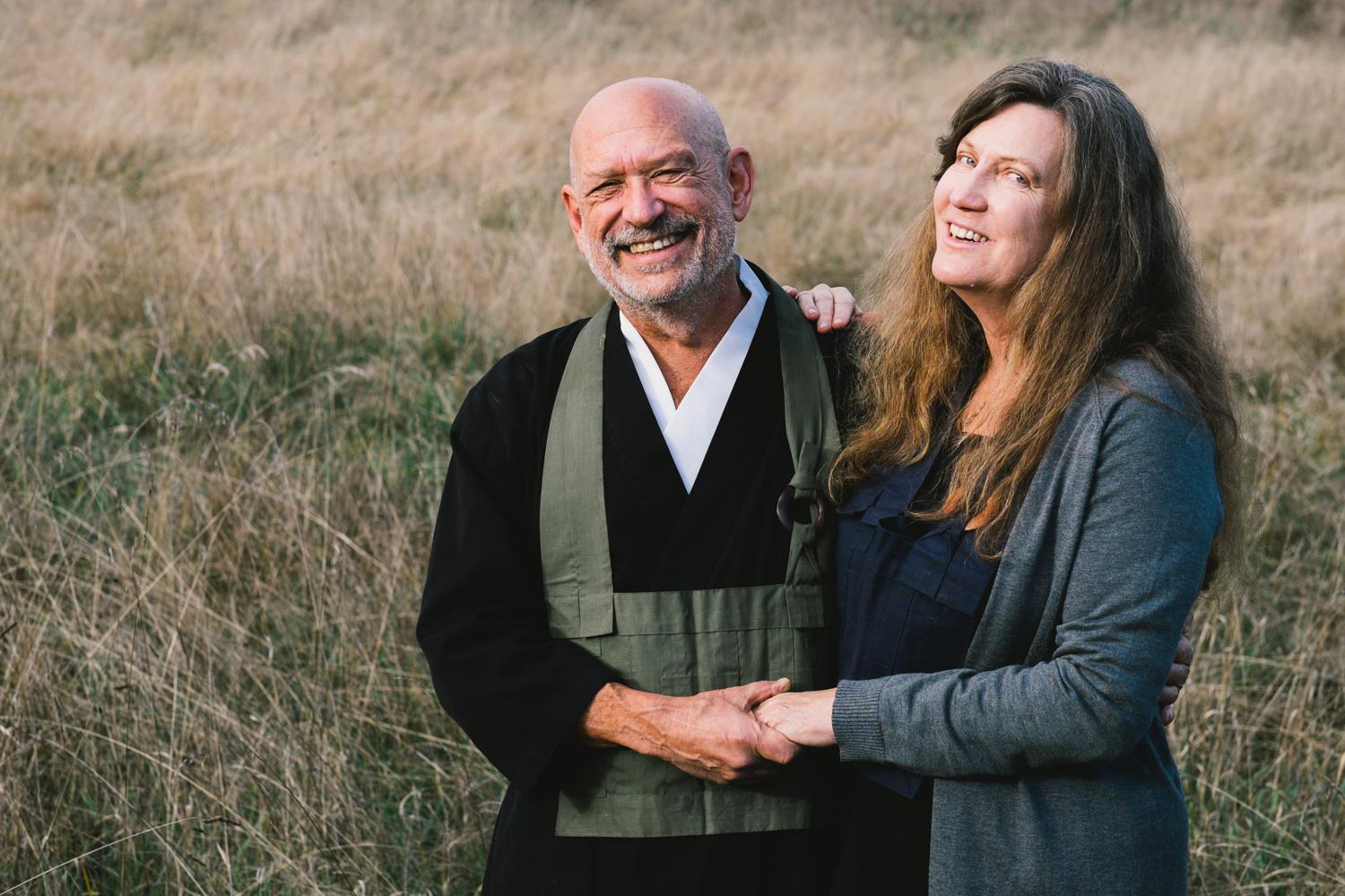 Peter Levitt and his wife, Shirley Graham.jpg