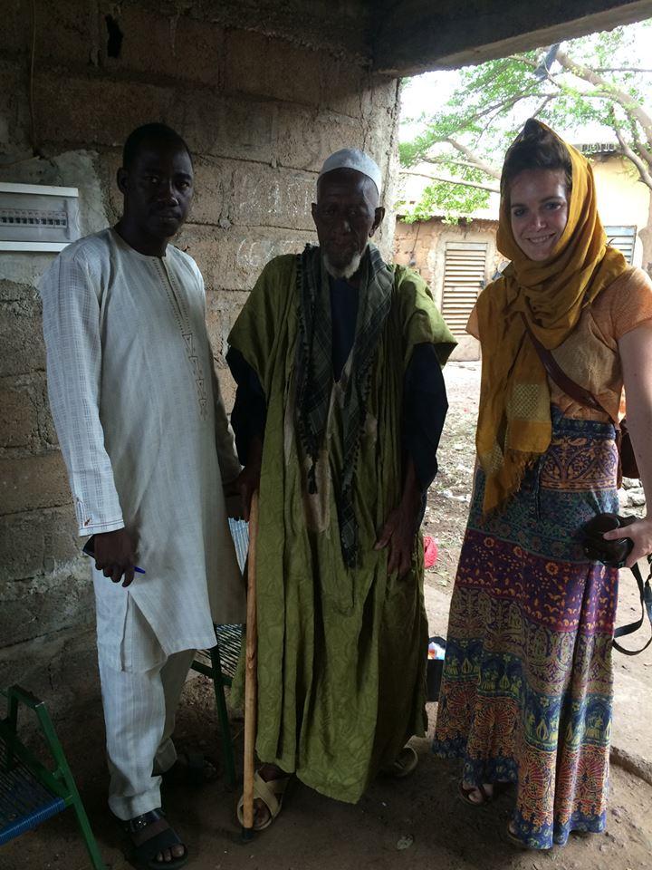 Tounkar, Chief (of Sikoro) Niare, Eliza.