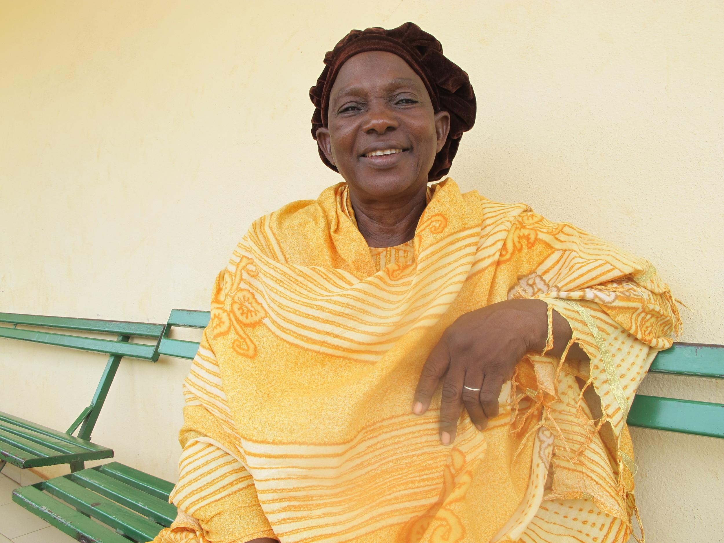 Mme Sabané Rokia Sangare,Vice President of ASACOMSI