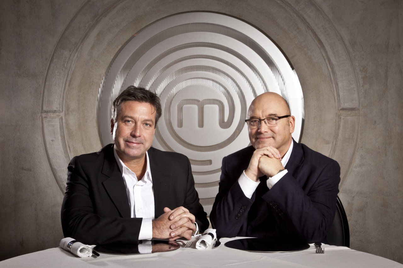 John Torode and Gregg Wallace. Photo taken from  this source .