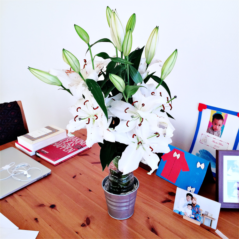 A lily bouquet